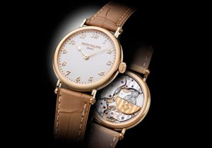 ladies calatrava rose gold