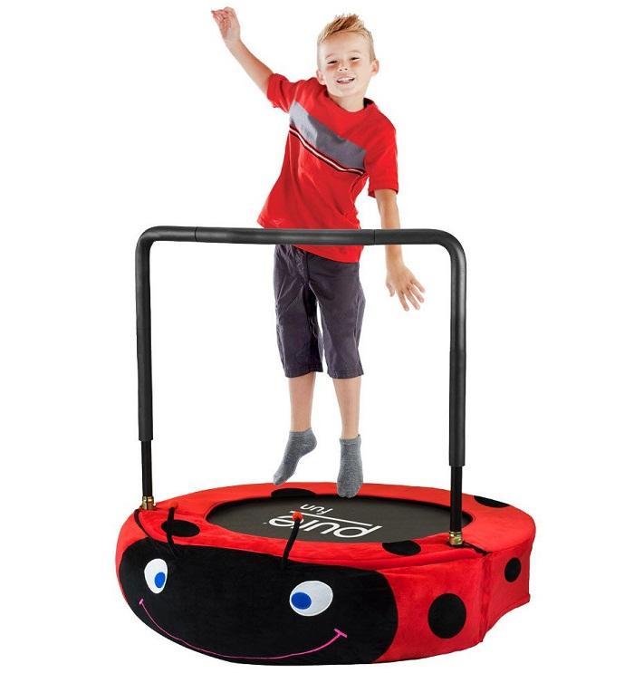 pure fun ladybug jumper kids trampoline