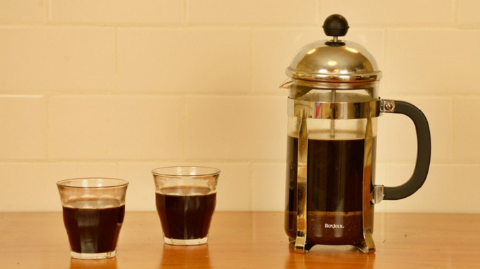coffee press idea for office