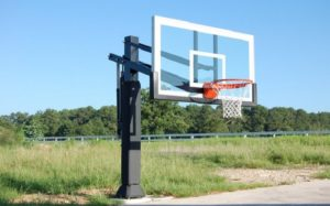 Pro Dunk Gold Basketball Goal Hoop