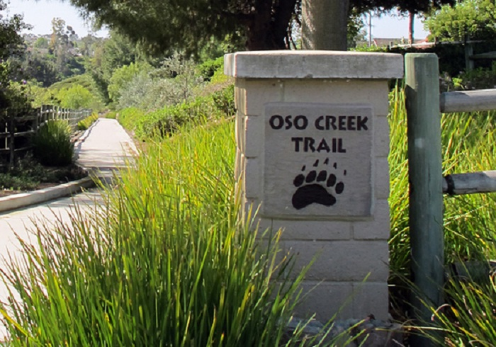 morning oso creek trail