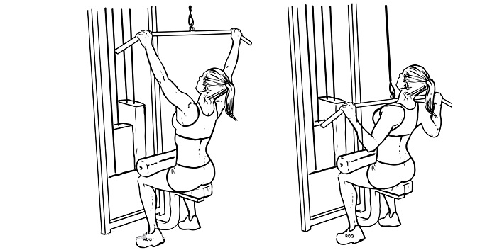 perfect lat pulldown