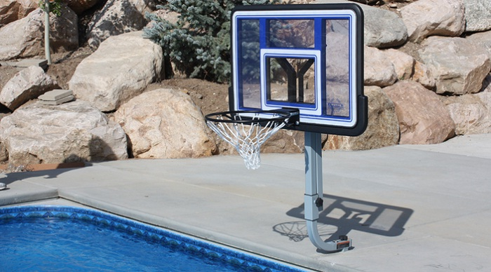 Pool Basketball Goal